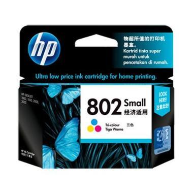 HP 802 Cartridge - Colour