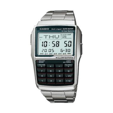 Jam Tangan CASIO DBC-32D-1ADF DataBank - Silver