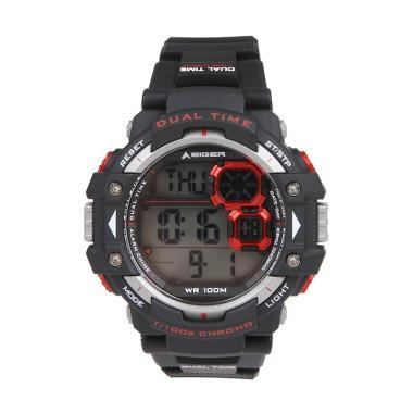 Eiger YP13609 LCD Watch Jam Tangan Pria - Black