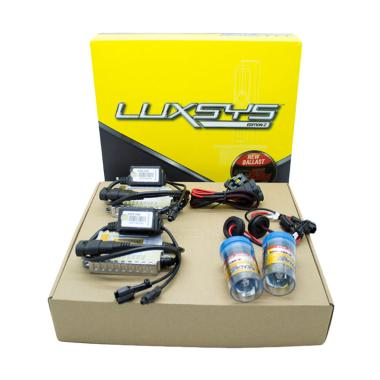 HDX Luxsys HID HB3 6000K Set Bohlam Lampu
