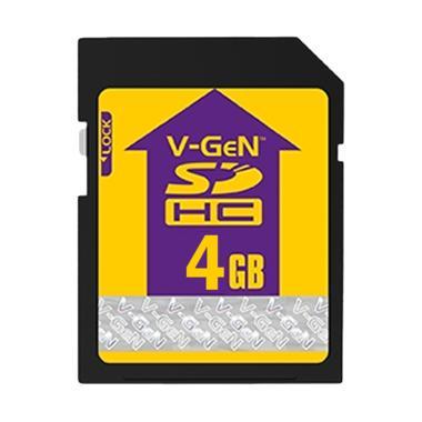 V-GEN SDHC Memory Card [4 GB/Class 6]