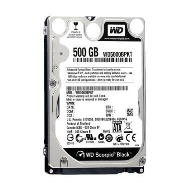 Jual WD Scorpio SATA Hard Disk Internal - [500 GB] Harga Rp Segera Hadir. Beli Sekarang dan Dapatkan Diskonnya.