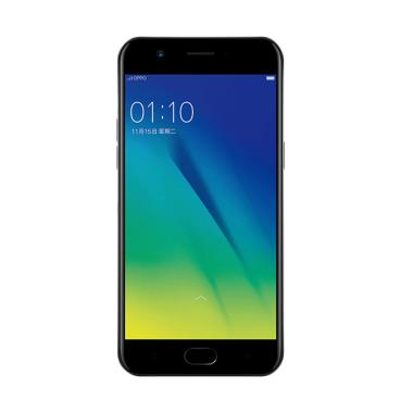 OPPO A57 Smartphone - Black [32GB/3GB/4G LTE] Free Tongsis