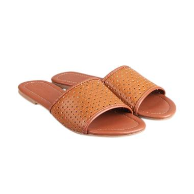Rabu Cantik - GIA Dorry Sandal Wanita - Brown