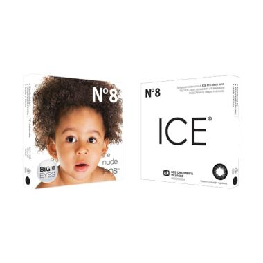 Ice N8 The Nude Lens - Black