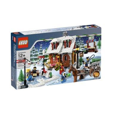 LEGO 10216 Winter Bakery Mainan Blocks & Stacking Toys