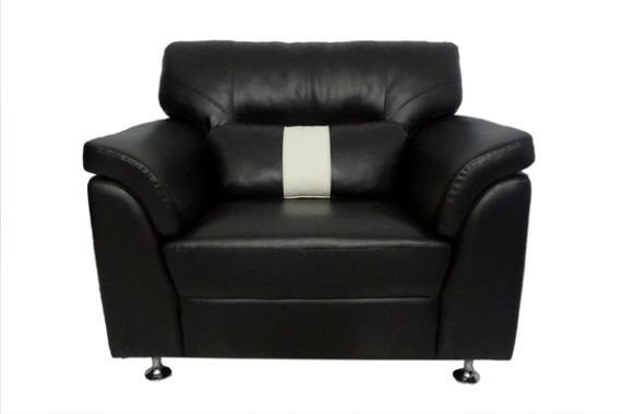 Aim Living Dakar 1 Seat Sofa - Hitam
