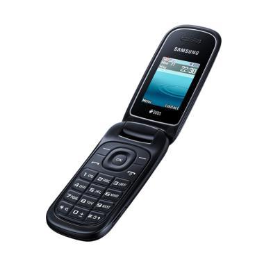 Samsung E1272 Handphone - Hitam