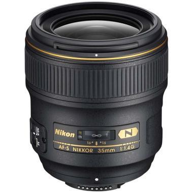 Nikon AF-S 35mm f-1.4G Nano Lensa Kamera - Ladang