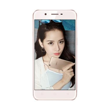 OPPO A39 Smartphone - Rose Gold [32GB/ 3GB/ 4G] Free Tongsis Cable
