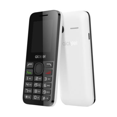 Alcatel 1054D Handphone - Black White