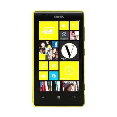 Nokia Lumia 720 Handphone - Yellow [8 GB/ 512 MB]
