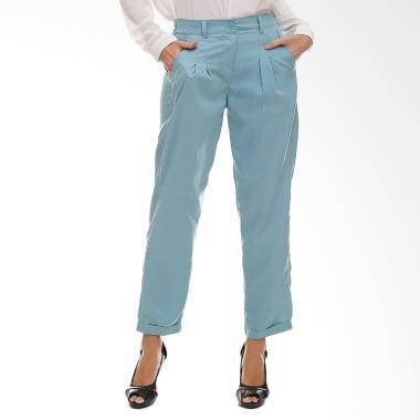 Madeleine Jazila Pants Celana Muslim Wanita - Blue