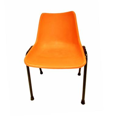 BKA Kursi Plastik - Orange
