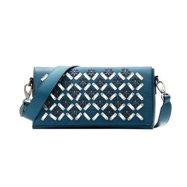 Bonia Junia Shoulder Bag Tas Wanita - Blue