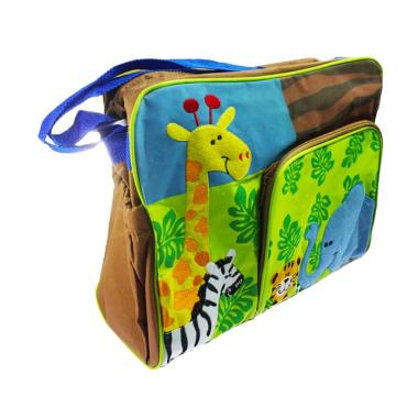 Melcare Safari Tas Diaper Bayi - Brown