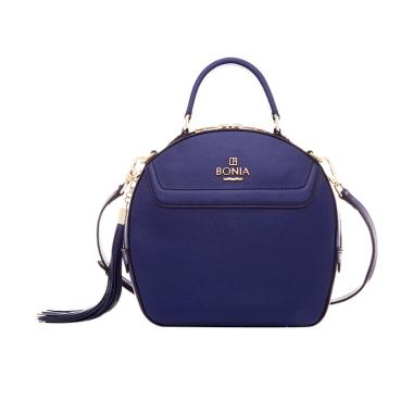 Bonia Basic Sonia Bag M Tas Wanita - Dark Blue