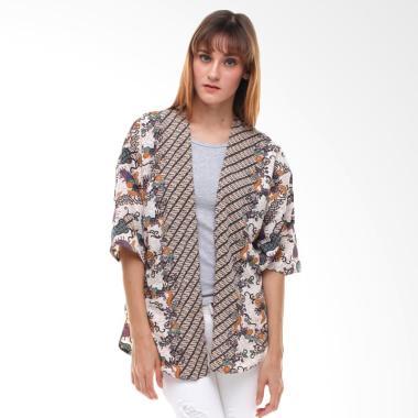 Anakara Kimono Oriental Java Atasan Wanita