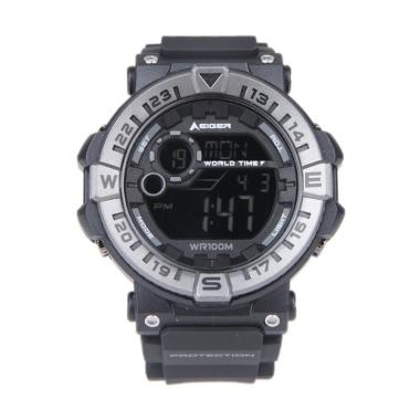 Eiger Leschaux 4.0 Jam Tangan Sport Digital - Black N82901TN