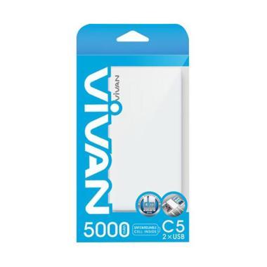 Jual VIVAN C5 Powerbank [5000 mAh] Harga Rp Segera Hadir. Beli Sekarang dan Dapatkan Diskonnya.