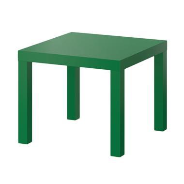 Ikea Lack Meja Samping - Hijau