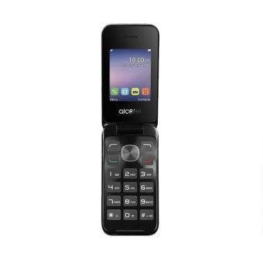 Alcatel 2051D Handphone - Metal Silver