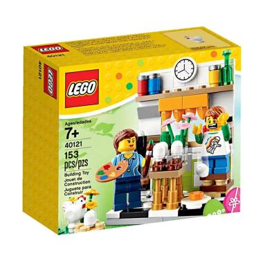 Lego Painting Easter Egg 40121 Mainan Blok & Puzzle