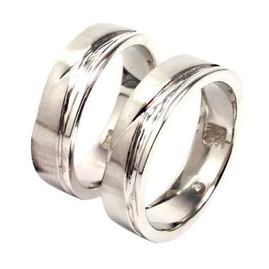 SAN 950 Cincin Couple - Silver
