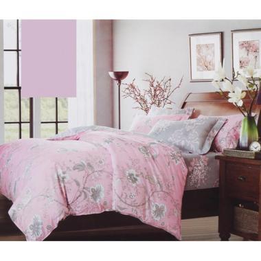 Tatami Belarose Set Sprei - Pink Grey