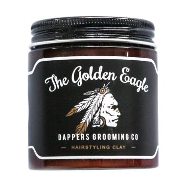MURAH..!!! Dappers Pomade Golden Eagle Styling Clay Hair Minyak Rambut