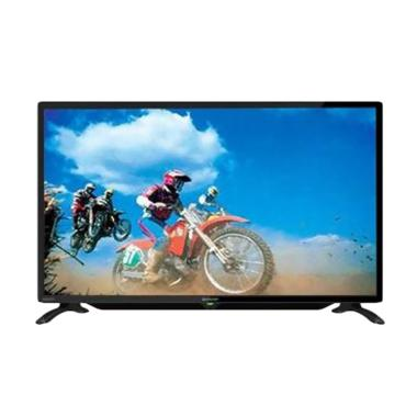 Sharp LC-32LE180i LED TV [32 Inch] + BONUS BRACKET DINDING