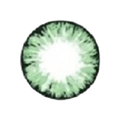 X2 ICE N8 Nude Green Softlens