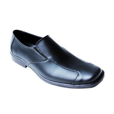 Arfu Hermes Formal Sepatu Pria - Hitam