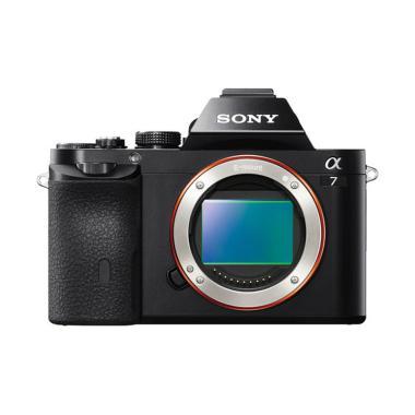 Sony Alpha A7 Body Only Kamera Mirrorless - Hitam