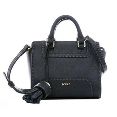 Bonia Picollo Satchel Bag - Dark Blue
