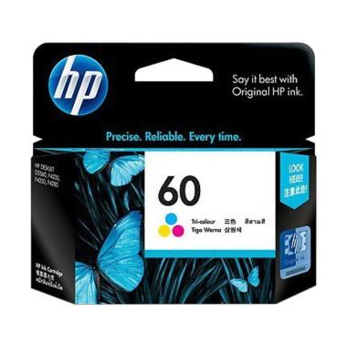 HP 60 Ink Cartridge - Color [CC643WA]