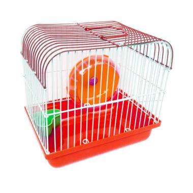 harga WYD Kandang Hamster Mini - Merah Blibli.com