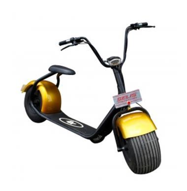 SELIS Type Harley Skuter Listrik - Gold