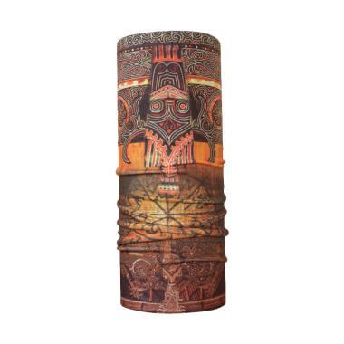 CK-Bandana Motif Batik Gorga Buff Masker Multifungsi