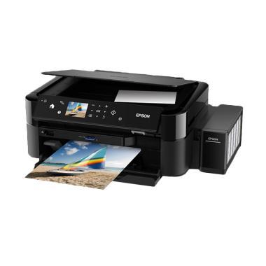 Epson Printer Multifungsi L850 - Hitam (Print, Scan, Copy)