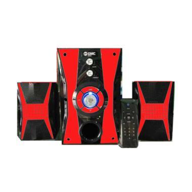 GMC 886E Speaker Multi Media - Red