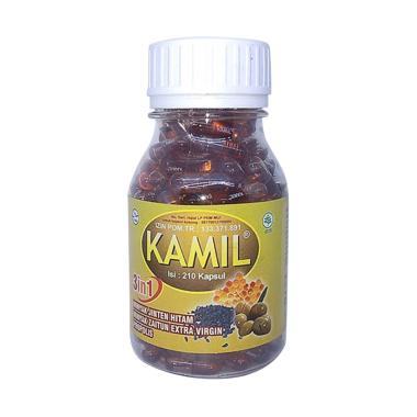 Cakcip Kamil 3in1 Obat Herbal [210 Kapsul]