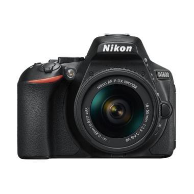 Nikon D5600 Kit 18-55mm VR Kamera DLSR - Hitam