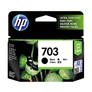 HP 703 Deskjet Ink Cartridge - Black