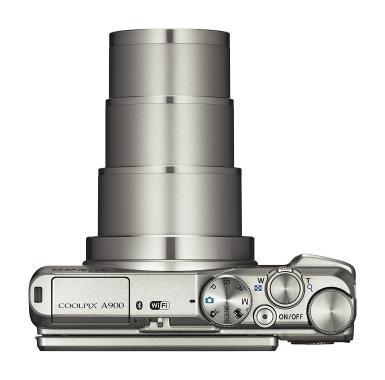 Nikon Coolpix A900 Kamera Pocket - Silver