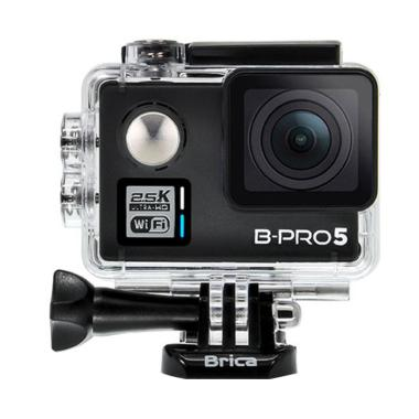 Brica B-Pro5 Alpha Plus Action Camera - Hitam [2 Inch]