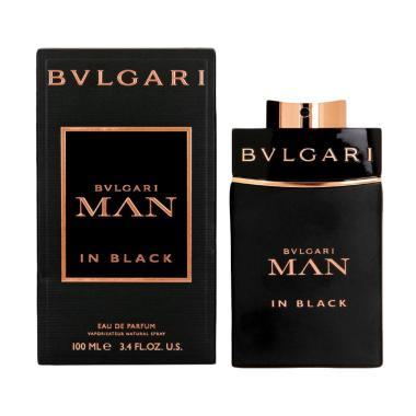 Bvlgari Man In Black Parfum EDT Pria [100 mL] Ori Tester Non Box