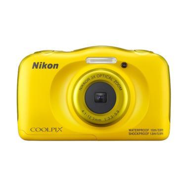 Nikon Coolpix W100 Kamera Pocket - Kuning Tokocamzone