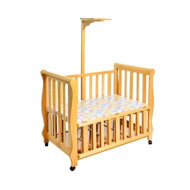 Hakari Baby Box HK 066 Tempat Tidur Bayi - Natural