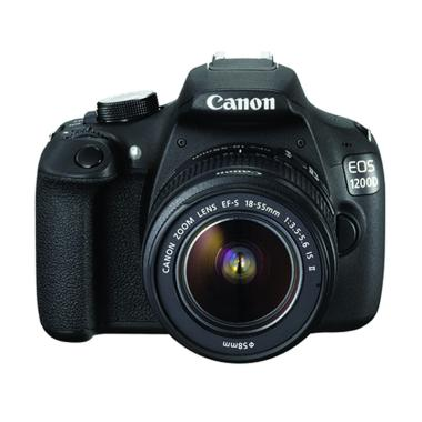 Canon EOS 1200D Kit EF-S18-55mm IS II Kamera DSLR